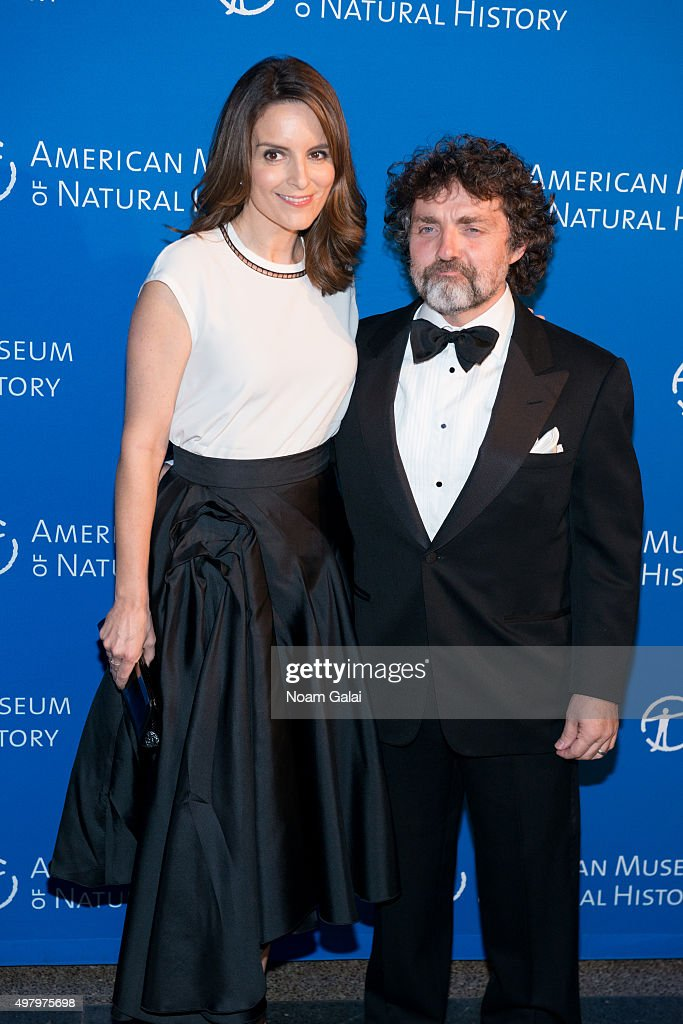 Tina Fey and Jeff Richmond attend the 2015 American Museum of Natural History Museum Gala at American Museum of Natural History on November 19, 2015 in New York City.