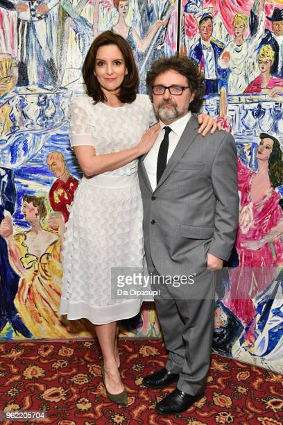 Tina Fey and Jeff Richmond attend the 2018 Outer Critics Circle Theatre Awards at Sardi's on May 24 2018 in New York City