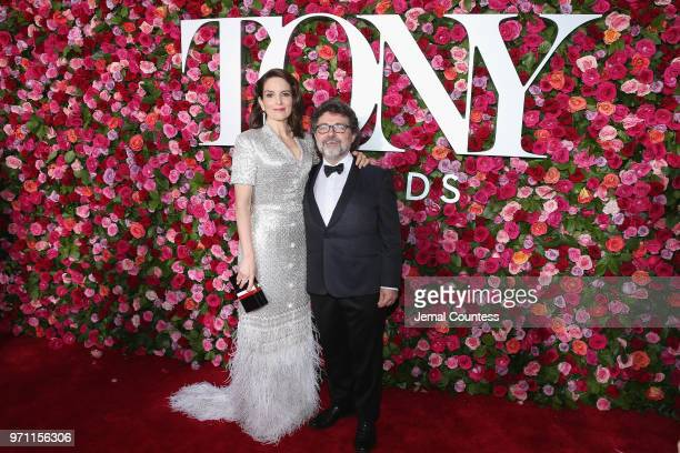 Tina Fey and Jeff Richmond attend the 72nd Annual Tony Awards at Radio City Music Hall on June 10 2018 in New York City