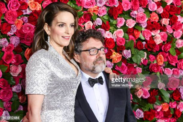Tina Fey and Jeff Richmond attend the 72nd Annual Tony Awards at Radio City Music Hall on June 10, 2018 in New York City.