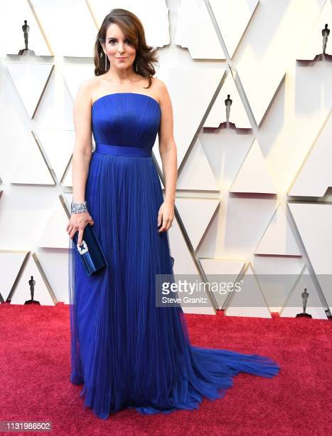 Tina Fey arrives at the 91st Annual Academy Awards at Hollywood and Highland on February 24 2019 in Hollywood California
