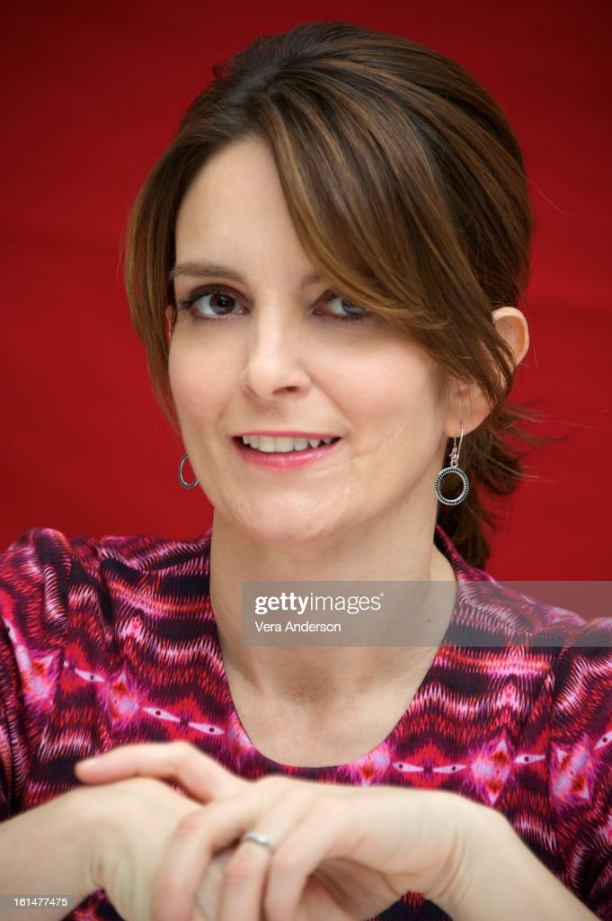 Tina Fey at the 'Admission' Press Conference at the Four Seasons Hotel on February 8, 2013 in New York City.