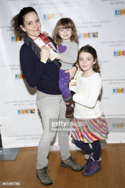 Tina Fey Athena Richmond and Alice Richmond attend DiMenna Children's History Museum Family Benefit History Surprises at DiMenna Children's History...