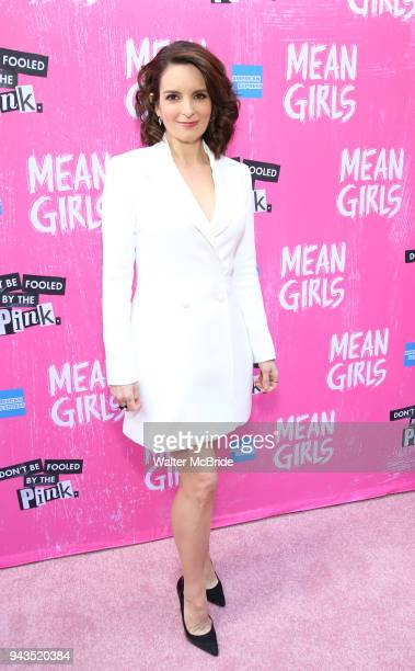 Tina Fey attending the Broadway Opening Night Performance of 'Mean Girls' at the August Wilson Theatre Theatre on April 8 2018 in New York City