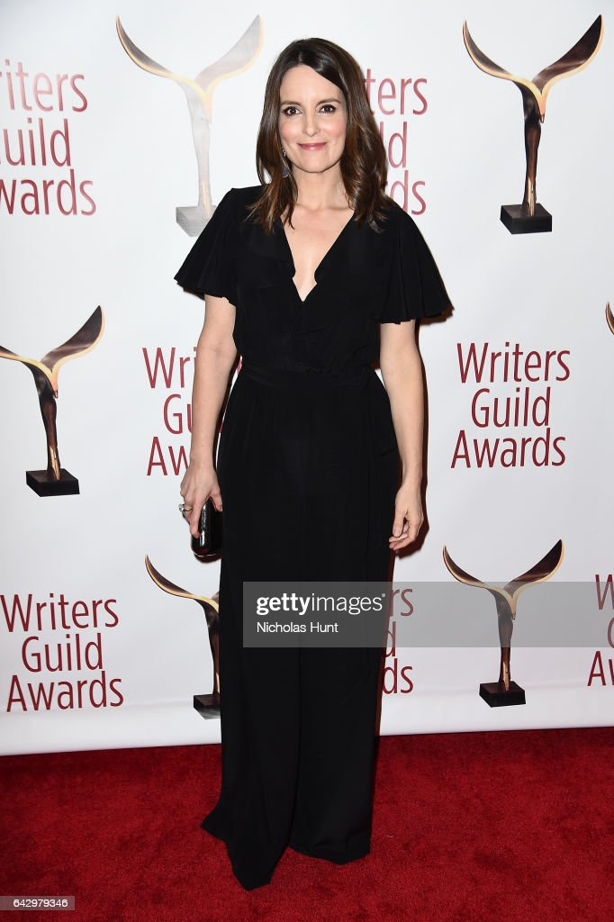 Tina Fey attends 69th Writers Guild Awards New York Ceremony at Edison Ballroom on February 19, 2017 in New York City.