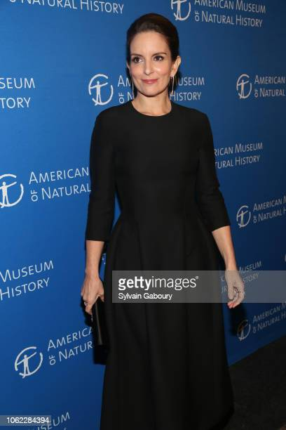 Tina Fey attends American Museum Of Natural History's 2018 Museum Gala at American Museum of Natural History on November 15 2018 in New York City