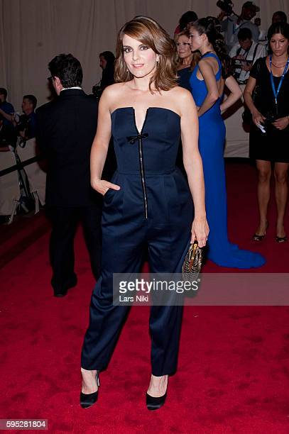 Tina Fey attends 'American Woman Fashioning A National Identity' Costume Institute Gala at The Metropolitan Museum of Art in New York City
