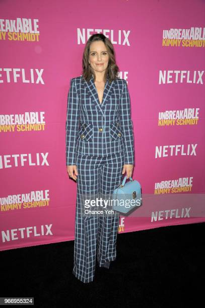 Tina Fey attends #NetflixFYSee 'Unbreakable Kimmy Schimdt' for Your Consideration Event at DGA Theater on June 3 2018 in New York City