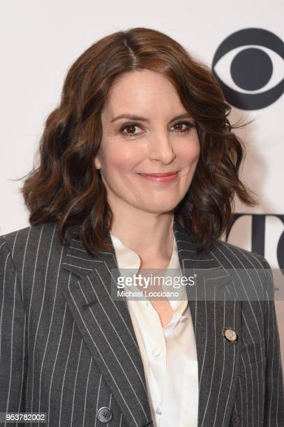 Tina Fey attends the 2018 Tony Awards Meet The Nominees Press Junket on May 2, 2018 in New York City.