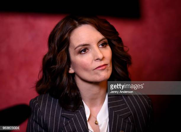 Tina Fey attends the 2018 Tony Awards Meet The Nominees Press Junket on May 2 2018 in New York City