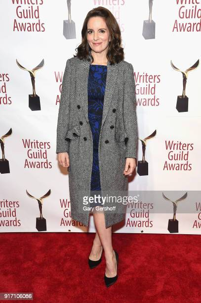 Tina Fey attends the 2018 Writers Guild Awards at Edison Ballroom on February 11 2018 in New York City