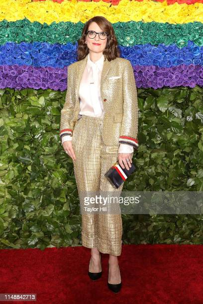 Tina Fey attends the 2019 Tony Awards at Radio City Music Hall on June 9 2019 in New York City