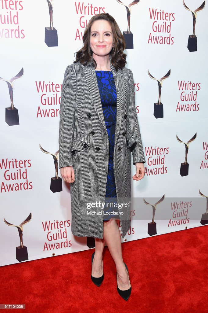 Tina Fey attends the 70th Annual Writers Guild Awards New York at Edison Ballroom on February 11, 2018 in New York City.