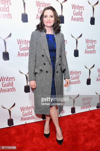 Tina Fey attends the 70th Annual Writers Guild Awards New York at Edison Ballroom on February 11 2018 in New York City