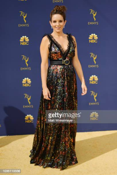 Tina Fey attends the 70th Emmy Awards at Microsoft Theater on September 17 2018 in Los Angeles California