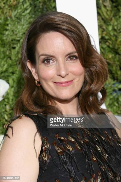Tina Fey attends the 71st Annual Tony Awards at Radio City Music Hall on June 11 2017 in New York City