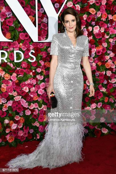 Tina Fey attends the 72nd Annual Tony Awards at Radio City Music Hall on June 10 2018 in New York City