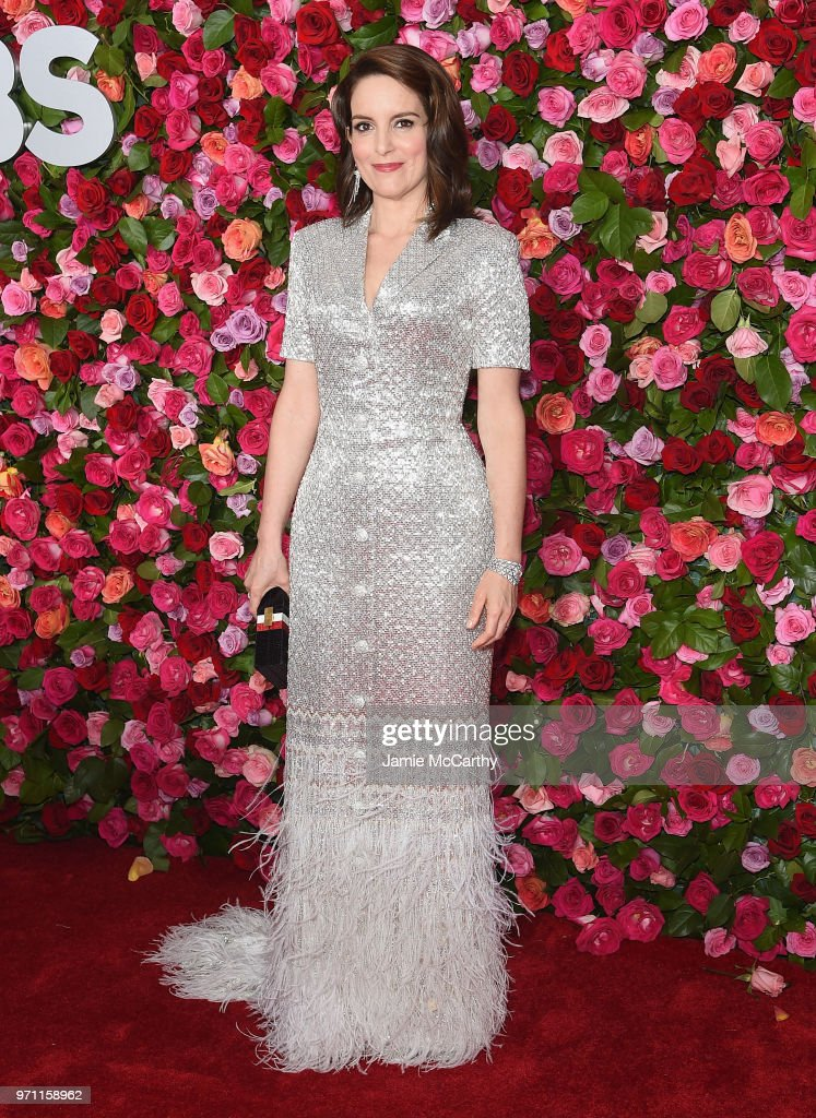Tina Fey attends the 72nd Annual Tony Awards at Radio City Music Hall on June 10, 2018 in New York City.