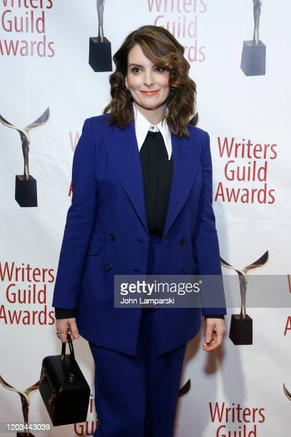 Tina Fey attends the 72nd Annual Writers Guild Awards at Edison Ballroom on February 01, 2020 in New York City.