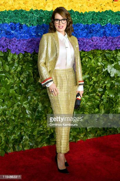 Tina Fey attends the 73rd Annual Tony Awards at Radio City Music Hall on June 09 2019 in New York City