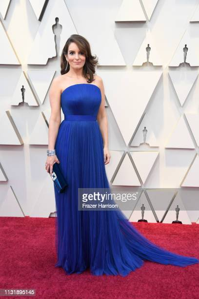 Tina Fey attends the 91st Annual Academy Awards at Hollywood and Highland on February 24 2019 in Hollywood California