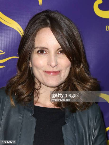 Tina Fey attends the 'Aladdin' On Broadway Opening Night at New Amsterdam Theatre on March 20 2014 in New York City