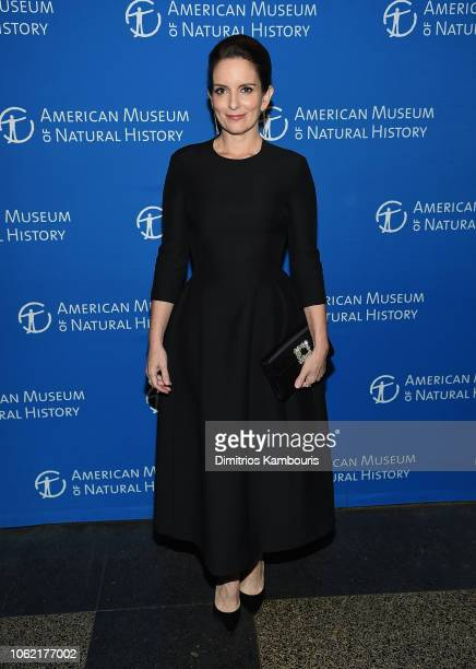 Tina Fey attends The American Museum Of Natural History 2018 Gala at American Museum of Natural History on November 15 2018 in New York City