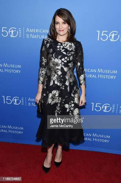 Tina Fey attends the American Museum Of Natural History 2019 Gala at the American Museum of Natural History on November 21 2019 in New York City