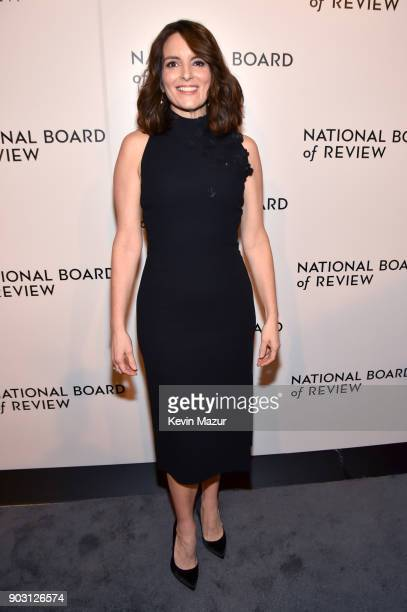 Tina Fey attends the National Board of Review Annual Awards Gala at Cipriani 42nd Street on January 9 2018 in New York City