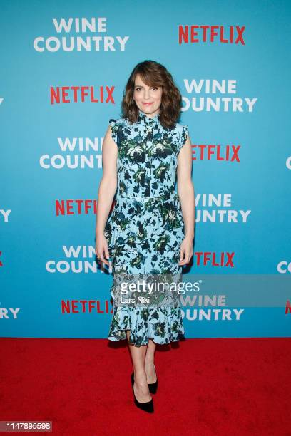 Tina Fey attends the Netflix Premiere of Wine Country on May 08 2019 in New York City