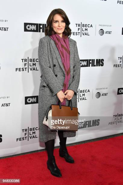 Tina Fey attends the opening night gala of 'Love Gilda' during the 2018 Tribeca Film Festival at Beacon Theatre on April 18 2018 in New York City