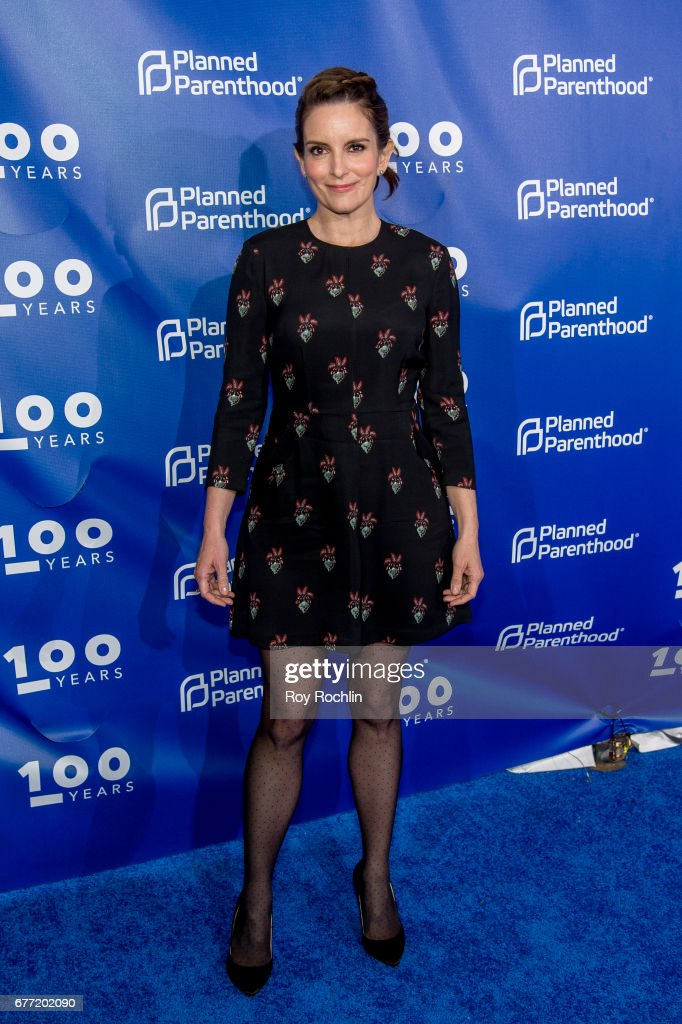Tina Fey attends the Planned Parenthood 100th Anniversary Gala at Pier 36 on May 2, 2017 in New York City.