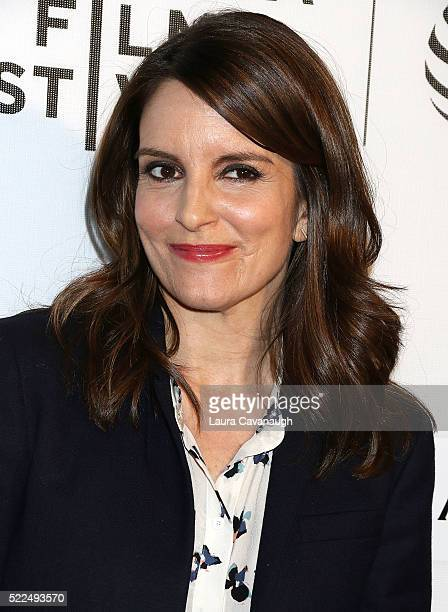 Tina Fey attends Tribeca Talks StorytellersTina Fey With Damian Holbrook 2016 Tribeca Film Festival at John Zuccotti Theater at BMCC Tribeca...