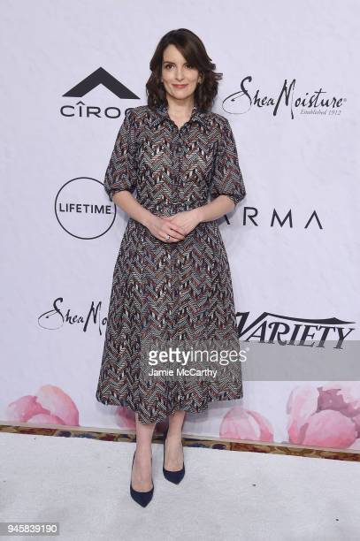 Tina Fey attends Variety's Power of Women New York at Cipriani Wall Street on April 13 2018 in New York City