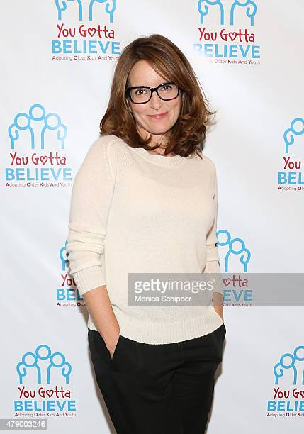 Tina Fey attends 'Voices For The Voiceless Stars For Foster Kids' Event at St James Theater on June 29 2015 in New York City