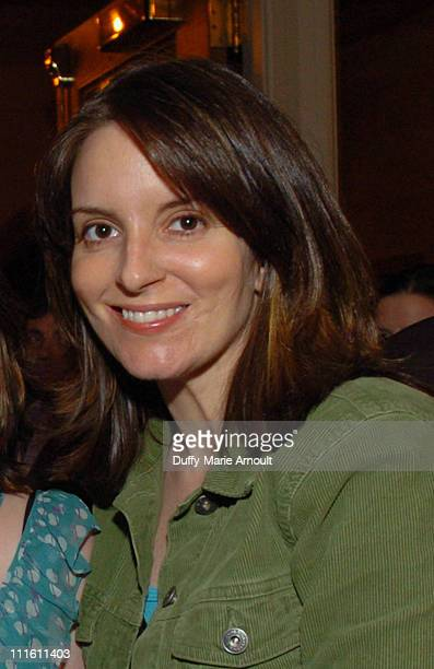 Tina Fey during 'Chitty Chitty Bang Bang' Broadway Opening Night Curtain Call and After Party at The Hilton Theatre and Hilton New York Hotel...