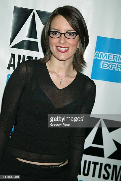 Tina Fey during Night of Too Many Stars Evening to Benefit The Autism Coalition at Roseland Ballroom in New York NY United States