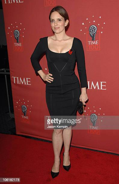 Tina Fey during Time Magazine's 100 Most Influential People 2007 Red Carpet Arrivals at Jazz at Lincoln Center in New York City New York United States