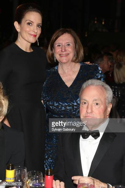 Tina Fey Ellen V Futter and Lorne Michaels attend American Museum Of Natural History's 2018 Museum Gala at American Museum of Natural History on...