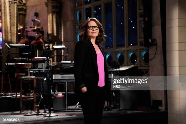 LIVE Tina Fey Episode 1746 Pictured Host Tina Fey during a promo in Studio 8H