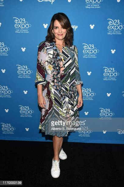 Tina Fey of 'Soul' took part today in the Walt Disney Studios presentation at Disney's D23 EXPO 2019 in Anaheim, Calif. 'Soul' will be released in...