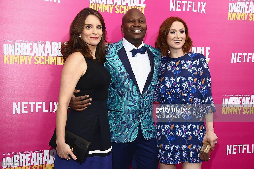 """Unbreakable Kimmy Schmidt"" Season 2 World Premiere : News Photo"