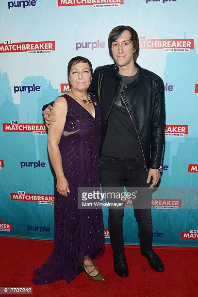 Tina Grimmie and Mark Grimmie attend the premiere of Stadium Media's The Matchbreaker at ArcLight Cinemas Cinerama Dome on October 4 2016 in...