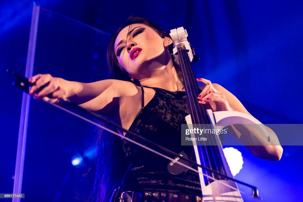 Tina Guo Performs At The Round Chapel