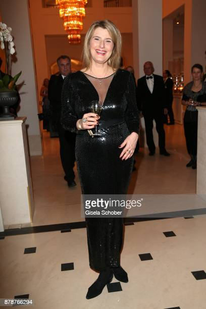 Tina Hassel during the 66th 'Bundespresseball' at Hotel Adlon on November 24 2017 in Berlin Germany