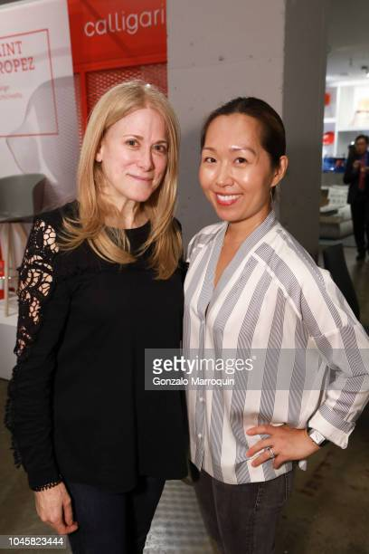 Tina Hedges and Judy Choe of LOLI Beauty host Beauty Brains And Booty A MultiBrand Whole Wellness Event on October 3 2018 in New York City