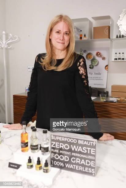 Tina Hedges of LOLI Beauty hosts Beauty Brains And Booty A MultiBrand Whole Wellness Event on October 3 2018 in New York City