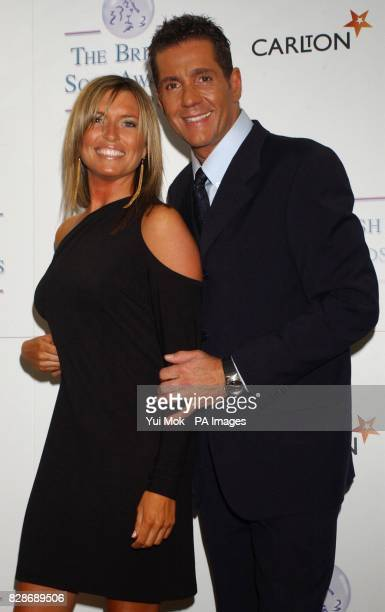 Tina Hobley and Dale Winton during the British Soap Awards 2003 at BBC Television Centre in west London. The awards ceremony, hosted by Des O'Connor...