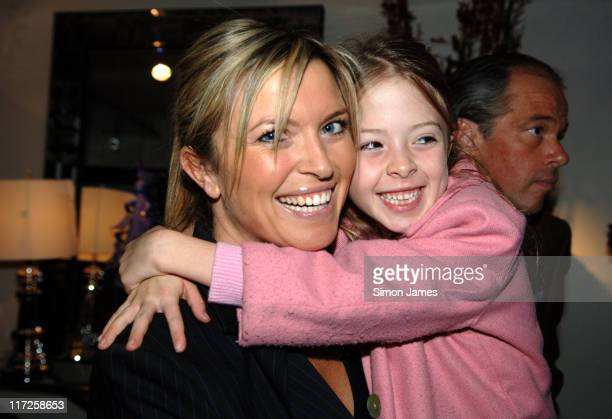 Tina Hobley and Daughter during International Interior Designer of the Year Award in London Great Britain