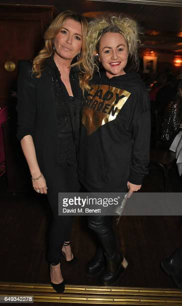 Tina Hobley and Jaime Winstone attend the Lady Garden VIP pub quiz in support of the Gynaecological Cancer Fund at Albert's Club on March 7 2017 in...